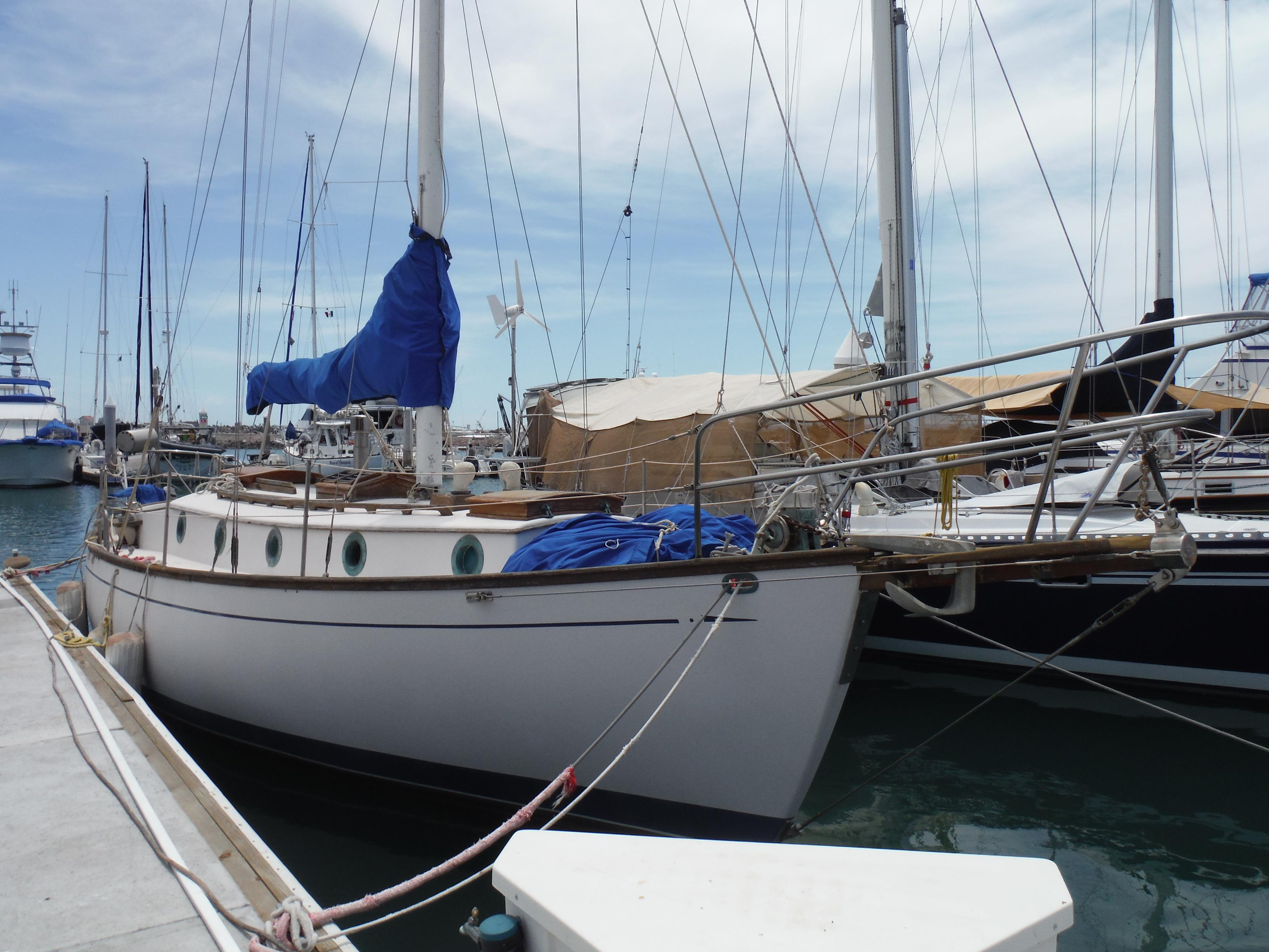 34' Noon Ocean 34 Cutter+Boat for sale!