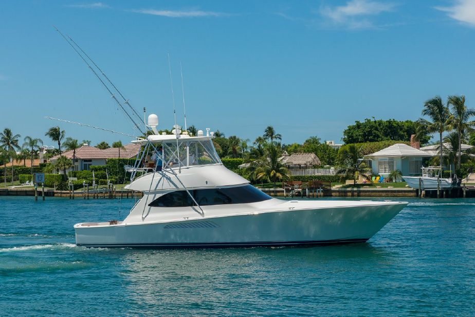 2009 Viking Yachts 50 Convertible Power Boat For Sale