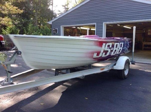 Jersey+Skiff+Boat+for+Sale 1985 Baron Jersey Speed Skiff Power Boat ...