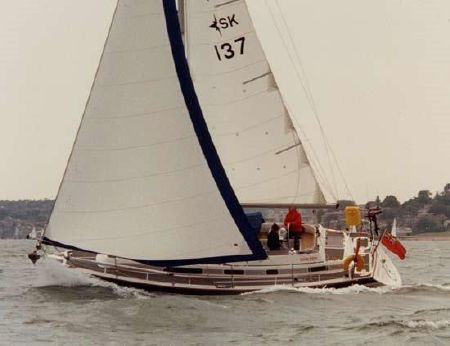 1989 Westerly Seahawk 35