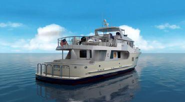 thumbnail photo 2: 2020 Northwest Motor Yacht