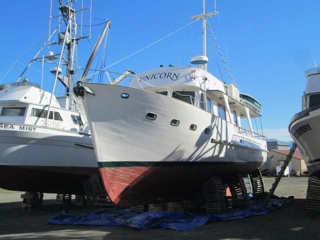 1970 classic motor yacht