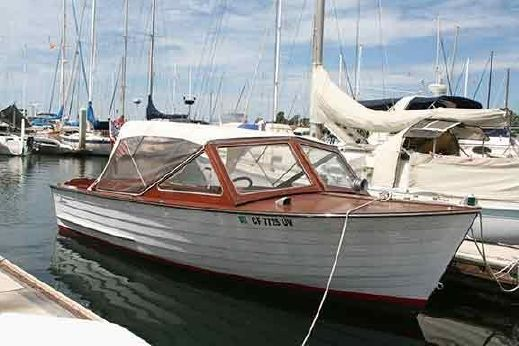 1965 Lyman 19 ft Runabout