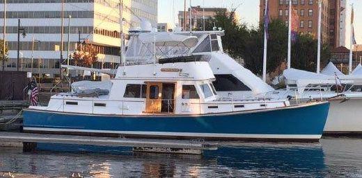 1987 Lyman Morse Jarvis Newman Motor Yacht