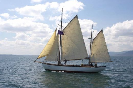 1920 Dikies Of Tarbert 48 Ft Gaff Rigged Ketch A.M Dikie & Sons