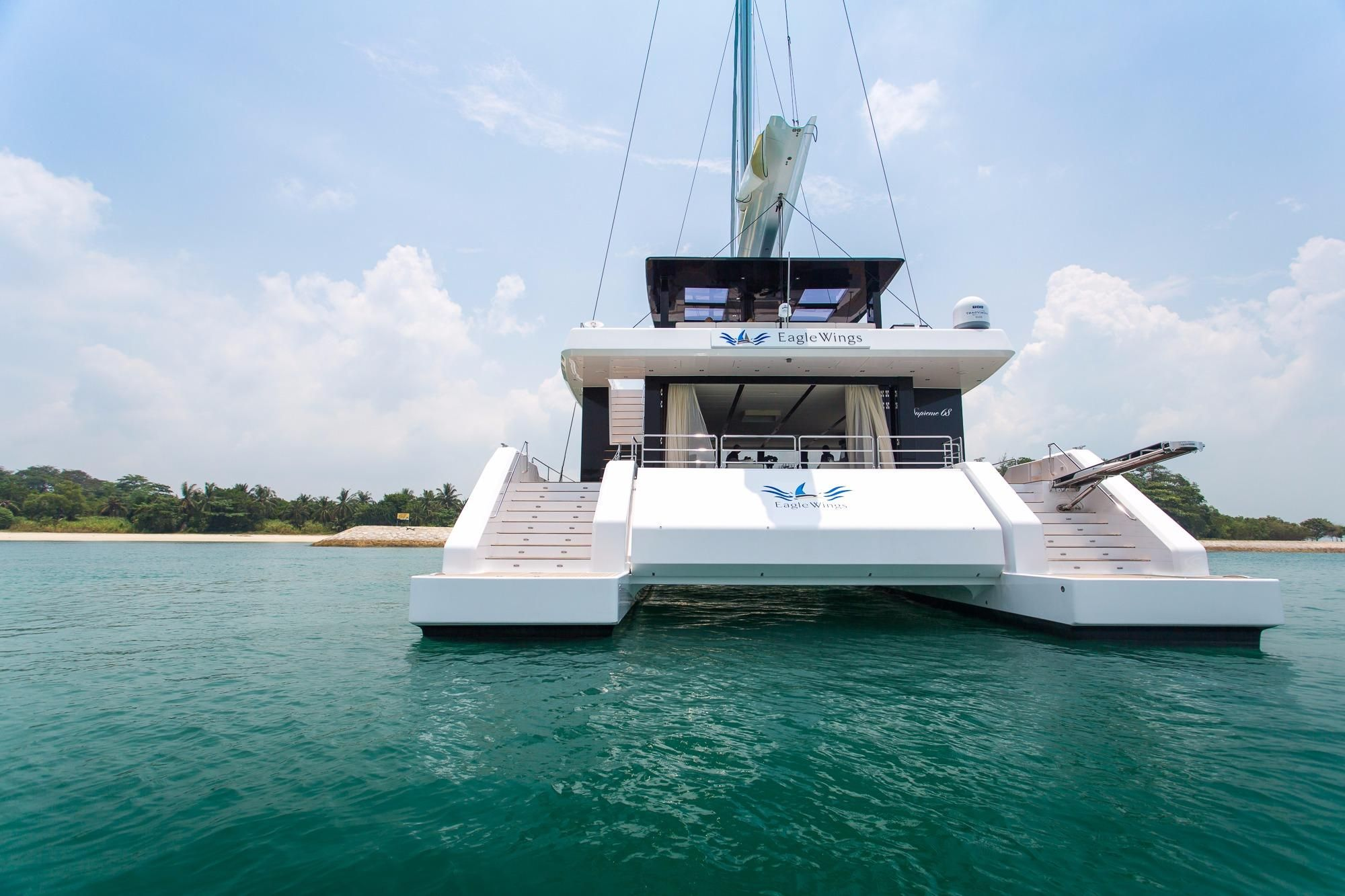 2017 Sunreef Supreme 68-S Segel Boot zum Verkauf - www.yachtworld.de