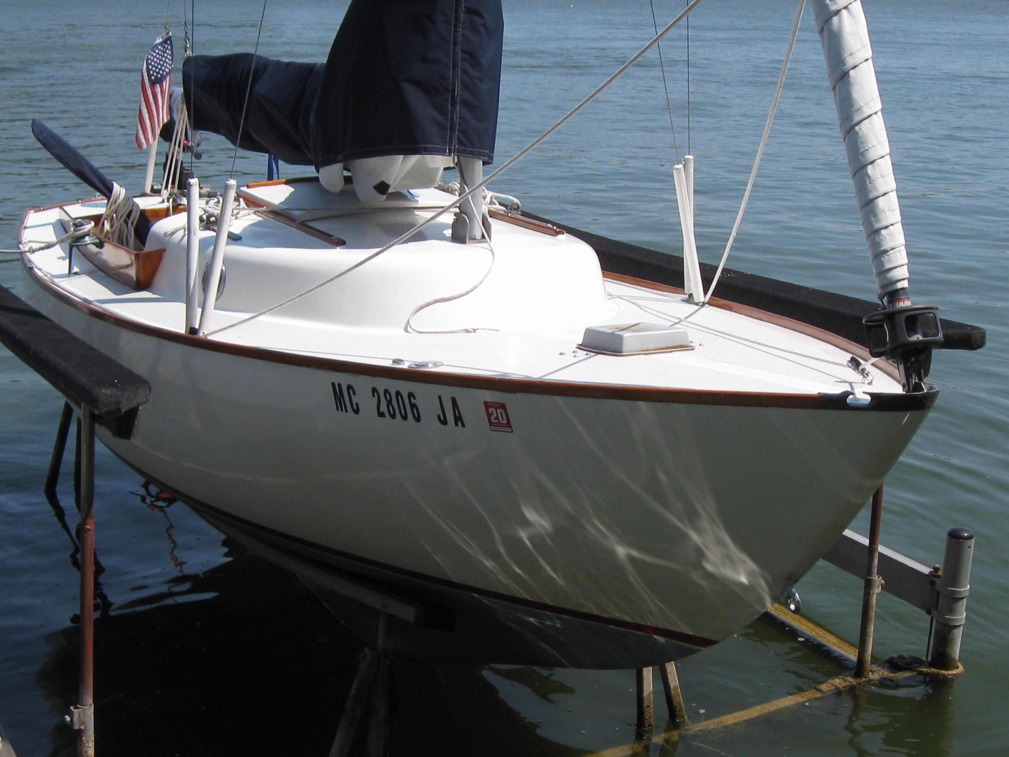 Cape Dory Typhoon >> 1971 Cape Dory Typhoon Weekender Sail Boat For Sale - www.yachtworld.com