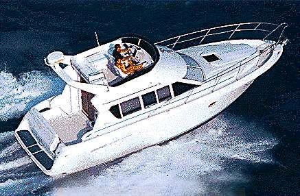 1995 Silverton 362 Sedan Cruiser