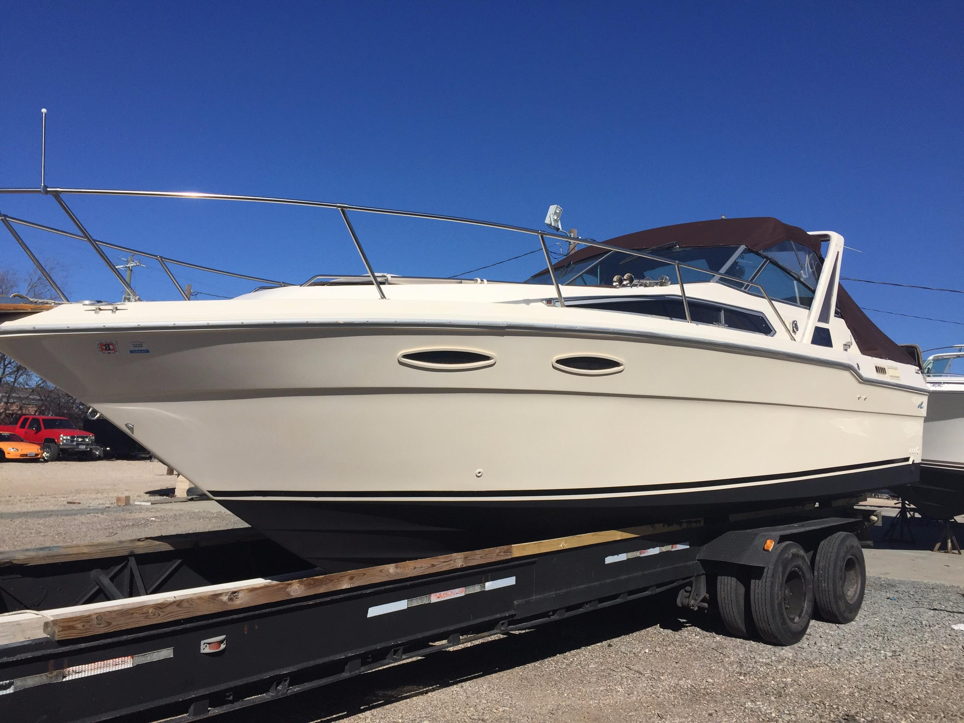 1987 Sea Ray 300 Weekender Power New And Used Boats For Sale