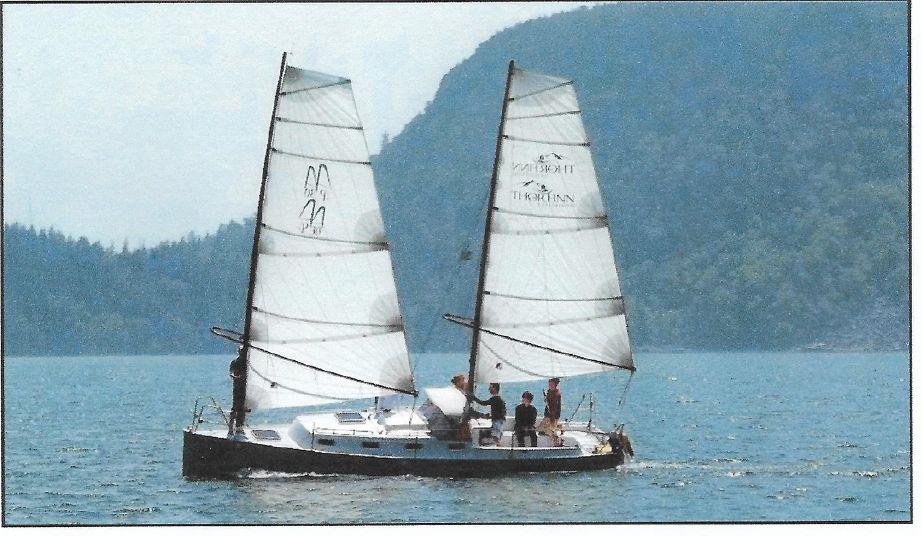2010 Union Presto 30 Sharpie Sail Boat For Sale Wwwyachtworldcom