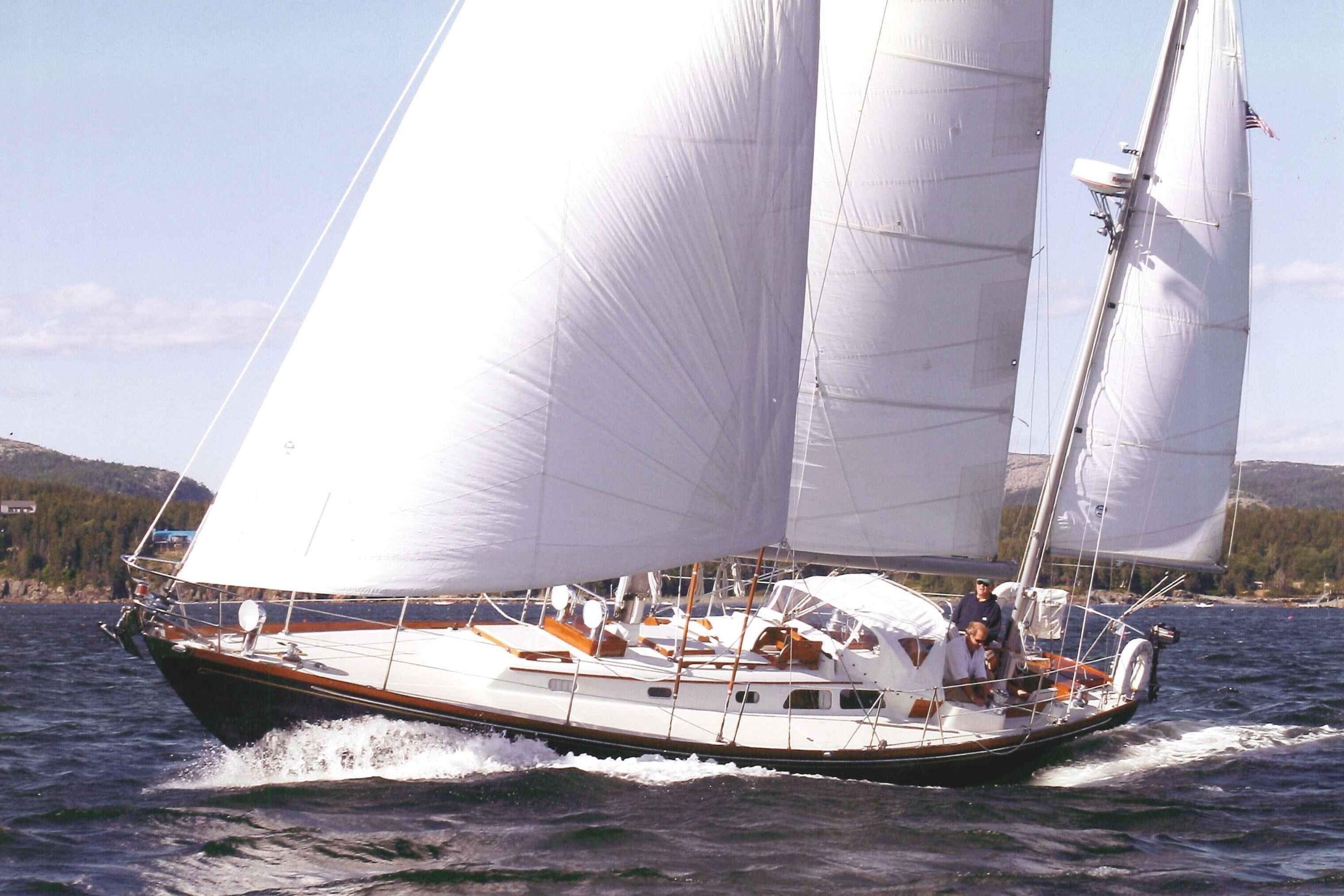 1987 Hinckley Bermuda 40 Mk Iii Yawl Sail Boat For Sale Allegro Motorhome Wiring Diagram