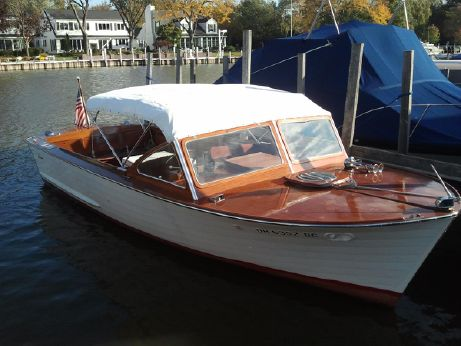 1962 Lyman 24 Inboard Sleeper