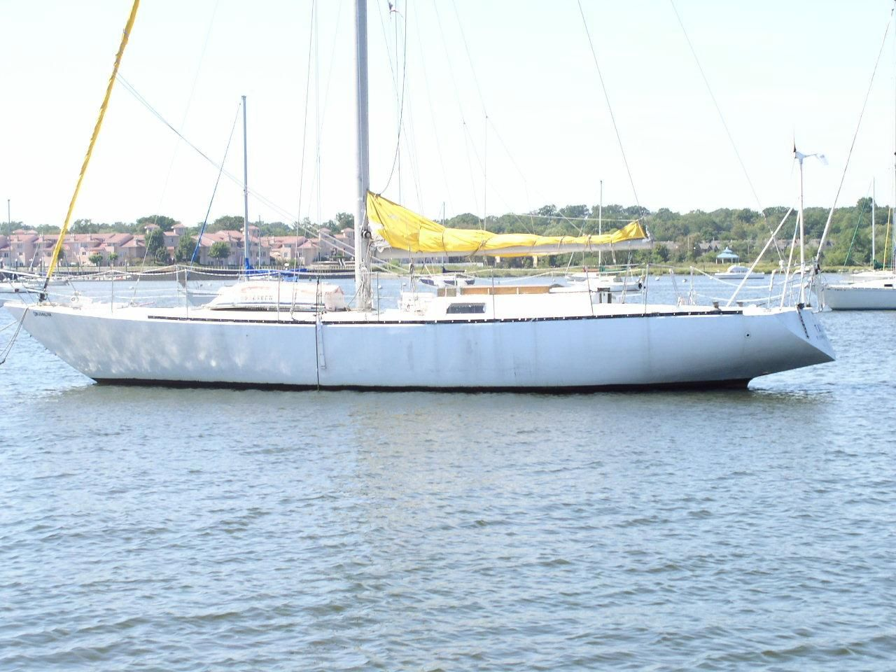 2001 Bruce Roberts Cutter Sail Boat For Sale Www