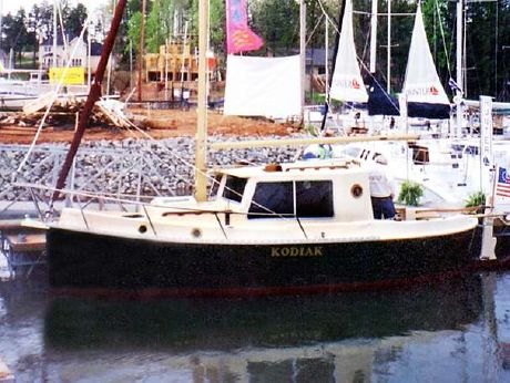2002 Nimble Kodiak Pilothouse Motor Sailor