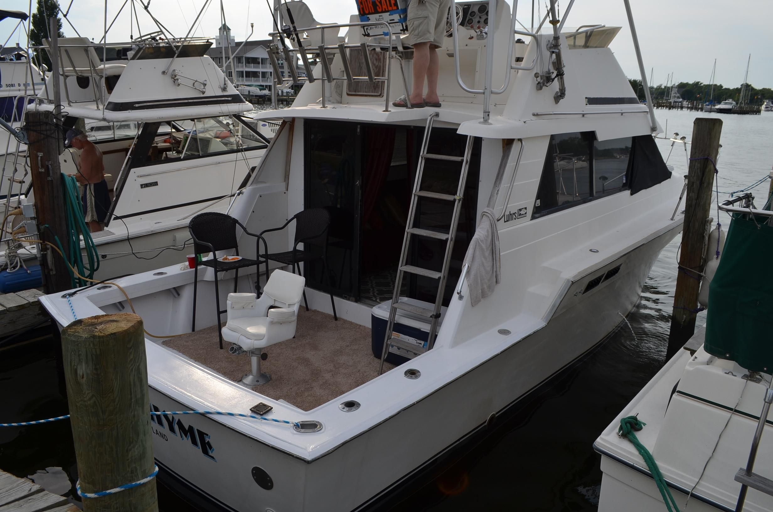 1988 luhrs 342 tournament sportfisherman power new and for Klakring motor co annapolis