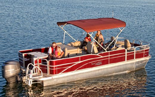 2014 G3 Sun Catcher X322 Fish & Cruise
