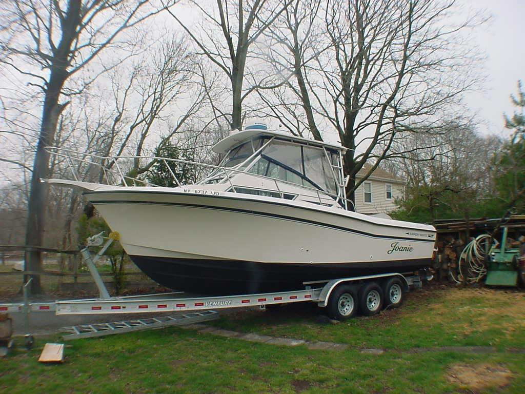 25 ft 1992 grady-white dolphin 251