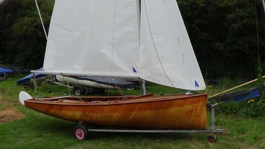 1957 Uffa Fox 'swordfish' sailing dinghy