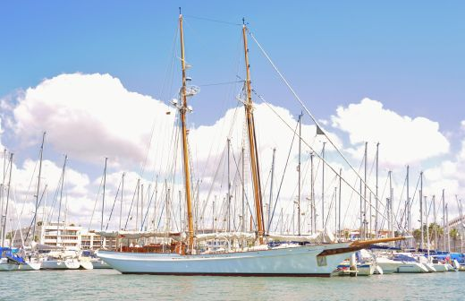 1982 Lubbe Voss Twin masted Schooner