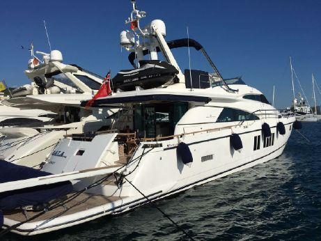 2012 Fairline Squadron 78 Custom