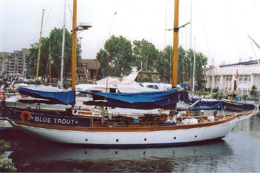 1937 Classic Norman Dallimore 69' ketch