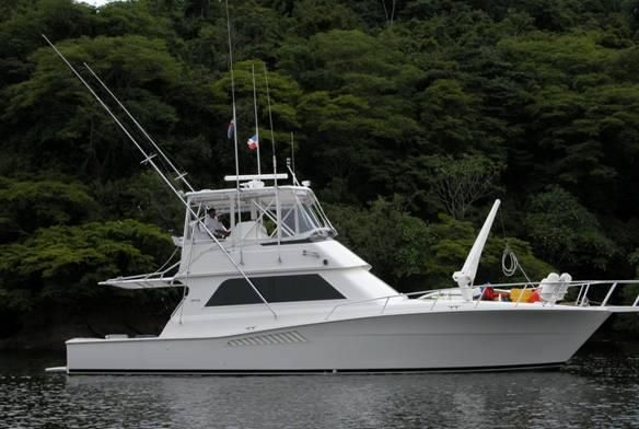 1994 viking convertible power boat for sale www for Viking 43 double cabin motor yacht