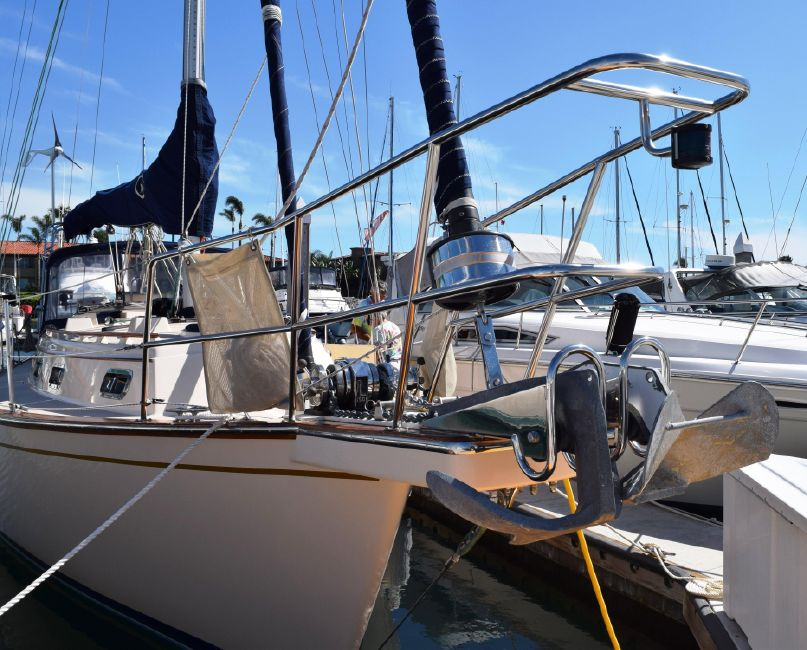 1996 37' ISLAND PACKET 37 Sailboat for sale in San Diego California