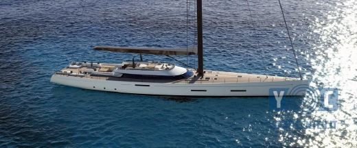 2017 New Sailing Project Sailing Yacht 35m or 42m