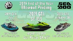 2019 Sea-Doo End of Summer Blowout