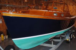 Photo of 29' Dyer Trunk Cabin Soft Top
