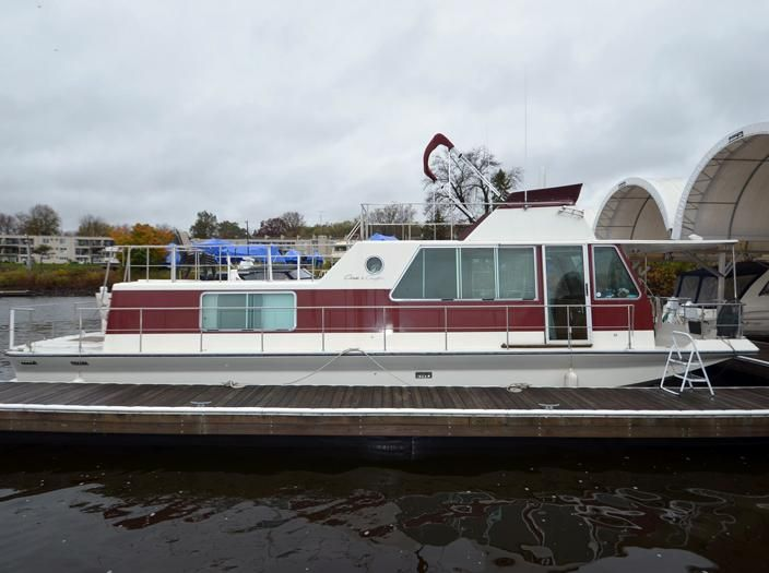1983 Chris Craft Aquahome Power Boat For Sale Www