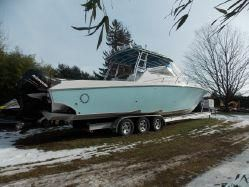 2007 Fountain 38 Sportfish Cruiser OB