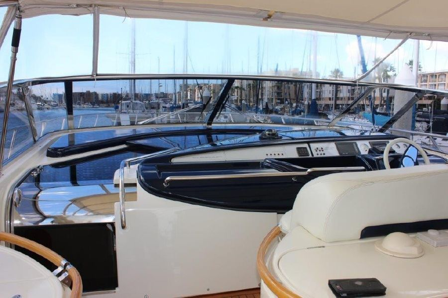 Riva Yachts 59 Mercurius Helm Cockpit