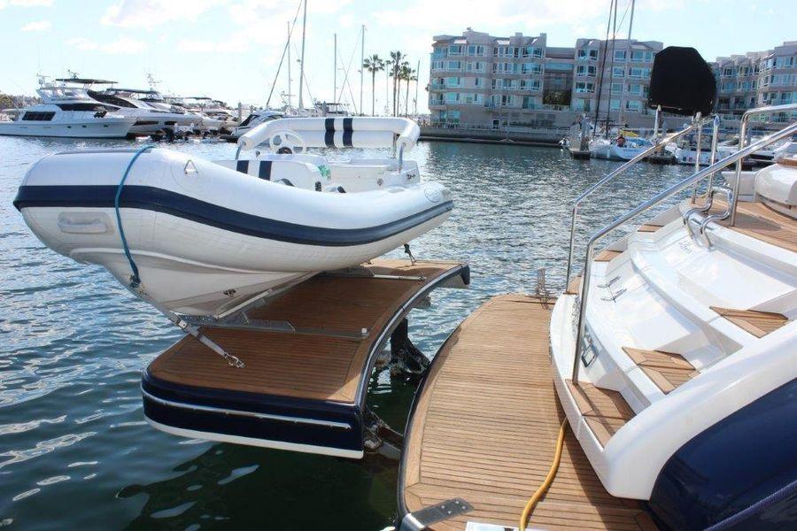 Riva Yachts 59 Luxury Sport Yacht Tender Storage