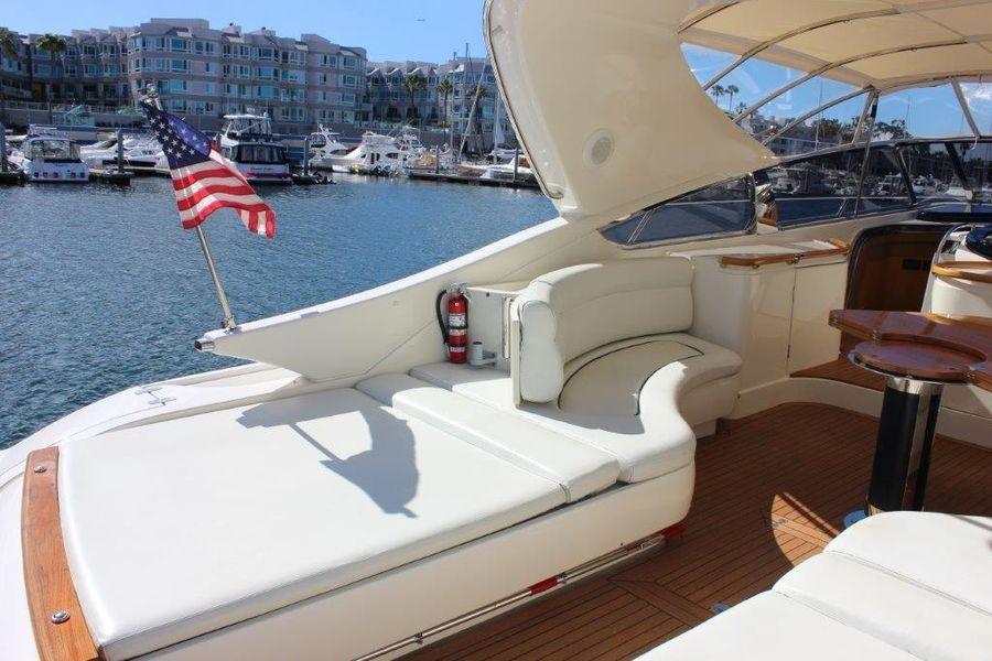 Riva Yachts 59 Mercurius Luxury Cockpit Seating