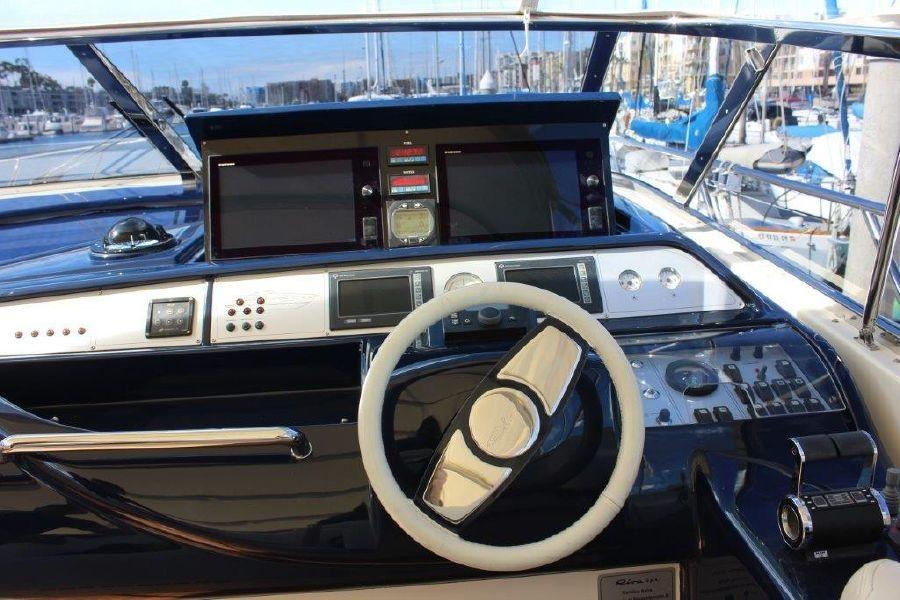 Riva 59 Mercurius Luxury Yacht Helm Electronics
