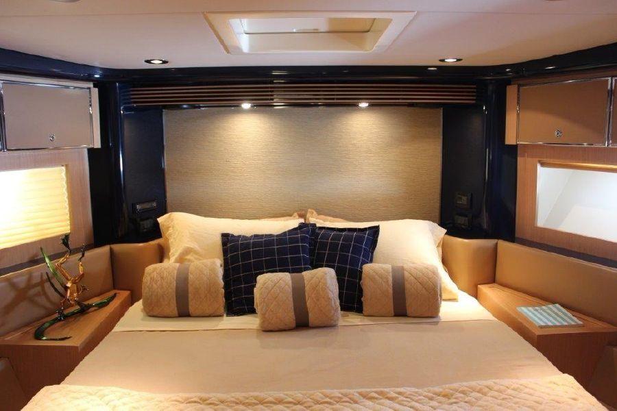 Riva 59 Mercurius Luxury Yacht Master Bed