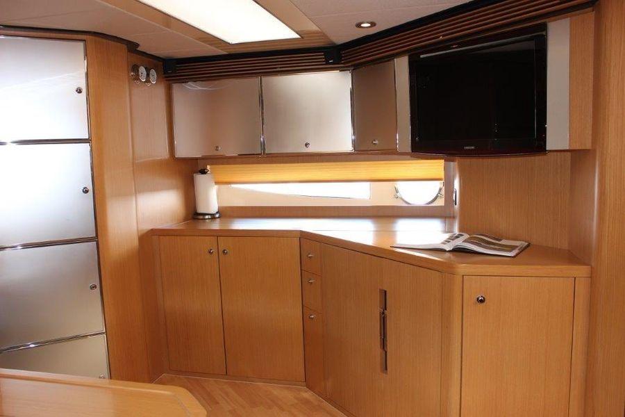 Riva Yachts 59 Mercurius Interior Galley Kitchen