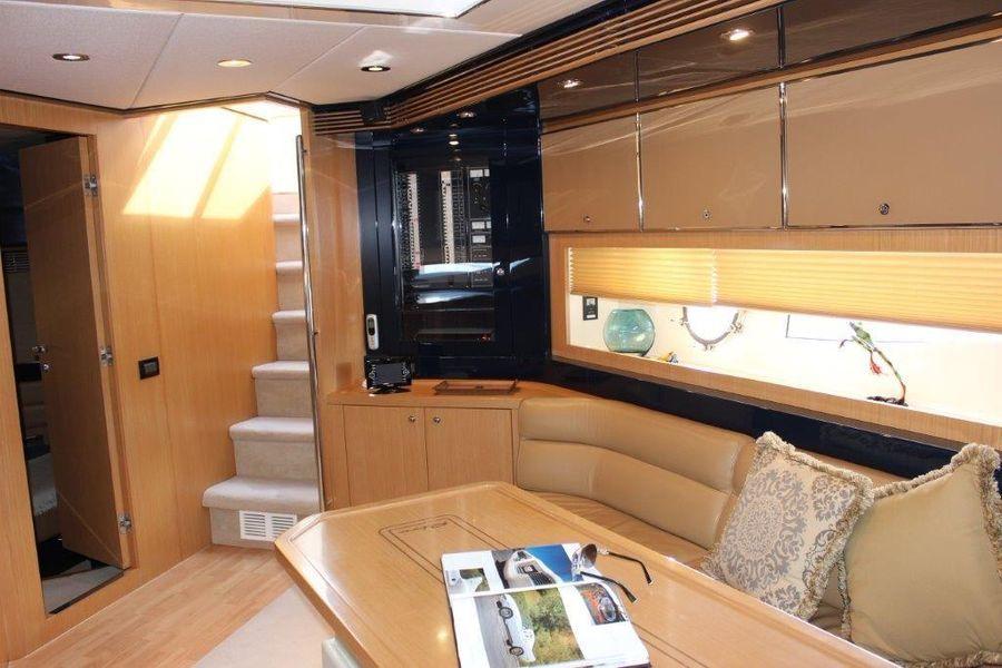 Riva Yachts 59 Mercurius Interior Salon