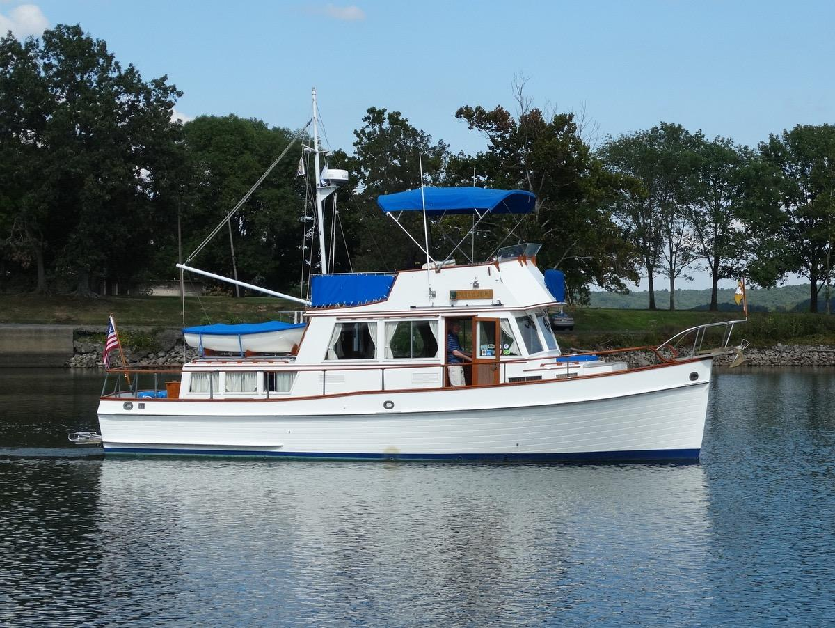 Eddyville (KY) United States  City pictures : 1981 Grand Banks 36 Classic Power Boat For Sale www.yachtworld.com