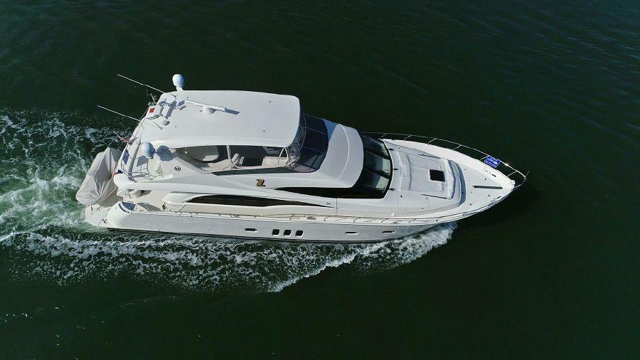 Marquis 690 Yacht Underway