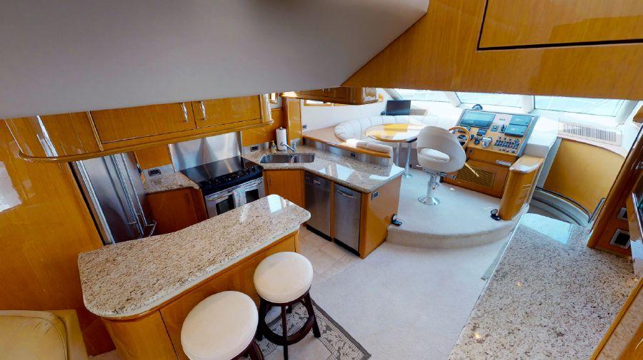 Marquis 690 Galley Kitchen