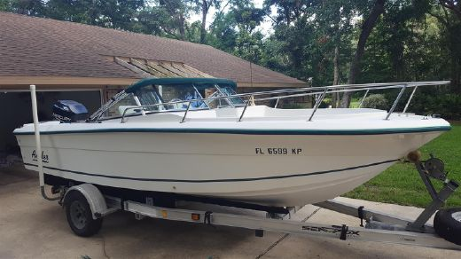 1998 Angler 204 DUAL CONSOLE