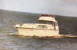 1981 Hatteras 43 Double Cabin