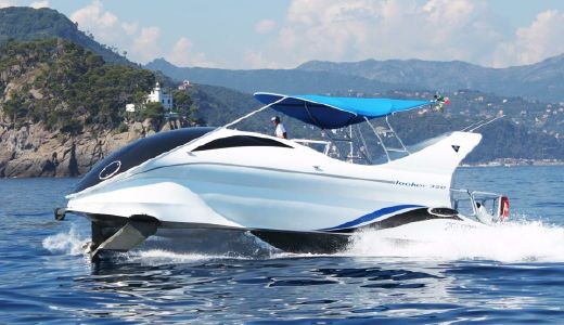 2017 Paritetboat Glass Bottom Boat Looker 350