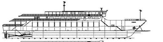 2010 Passengers Car Ferry