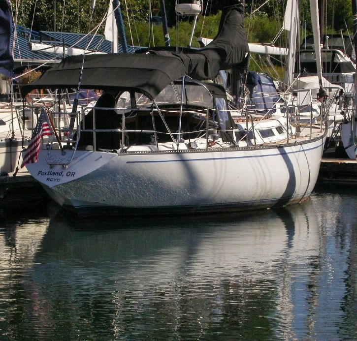1983 Catalina 38 Sail Boat For Sale - www yachtworld com