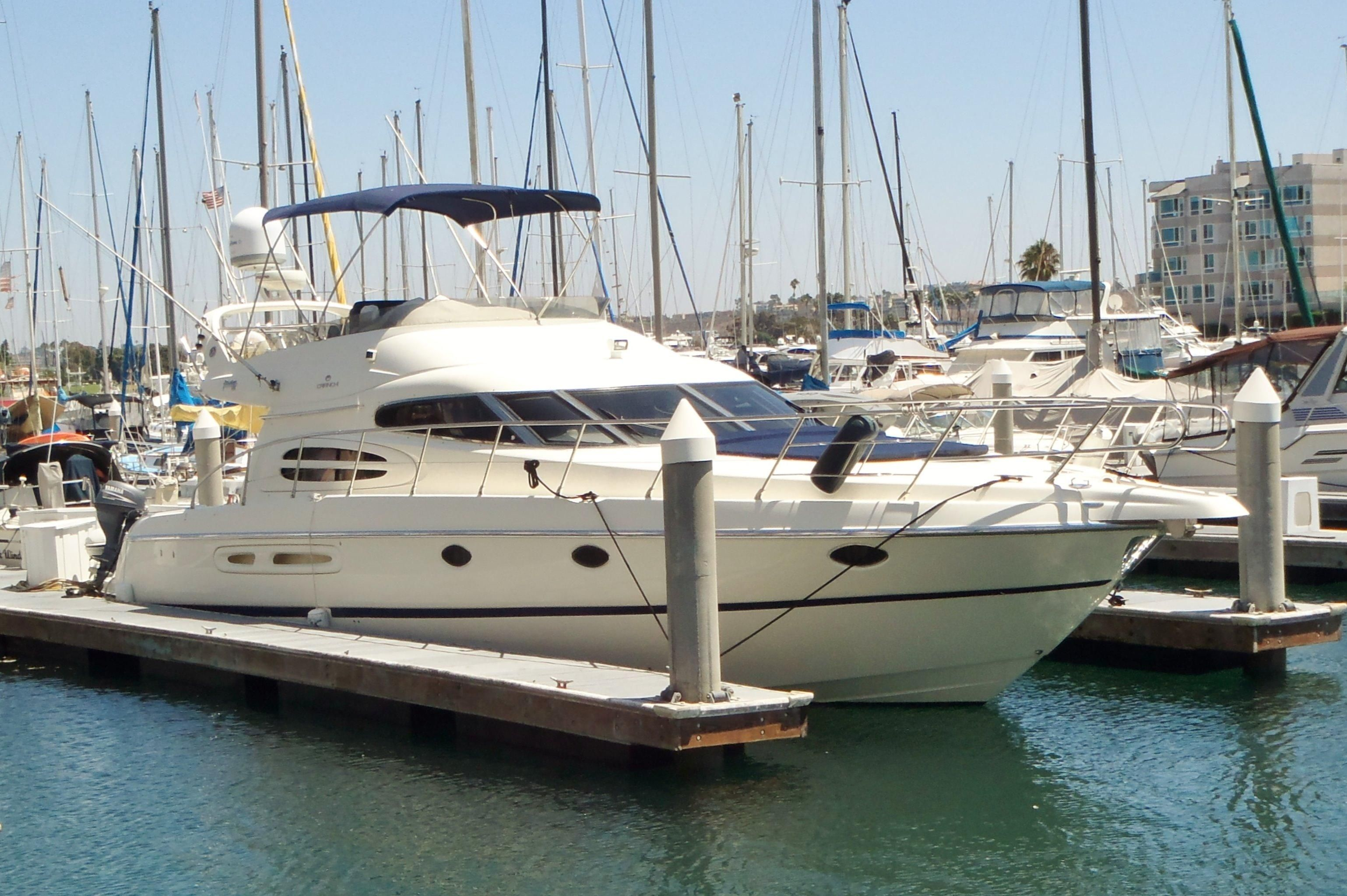 2003 cranchi atlantique 48 power boat for sale www for Marina del rey fishing charter