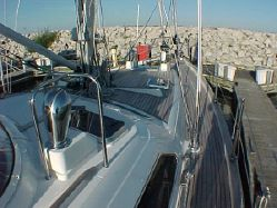 photo of  54' Moody Centercockpit Deck Salon