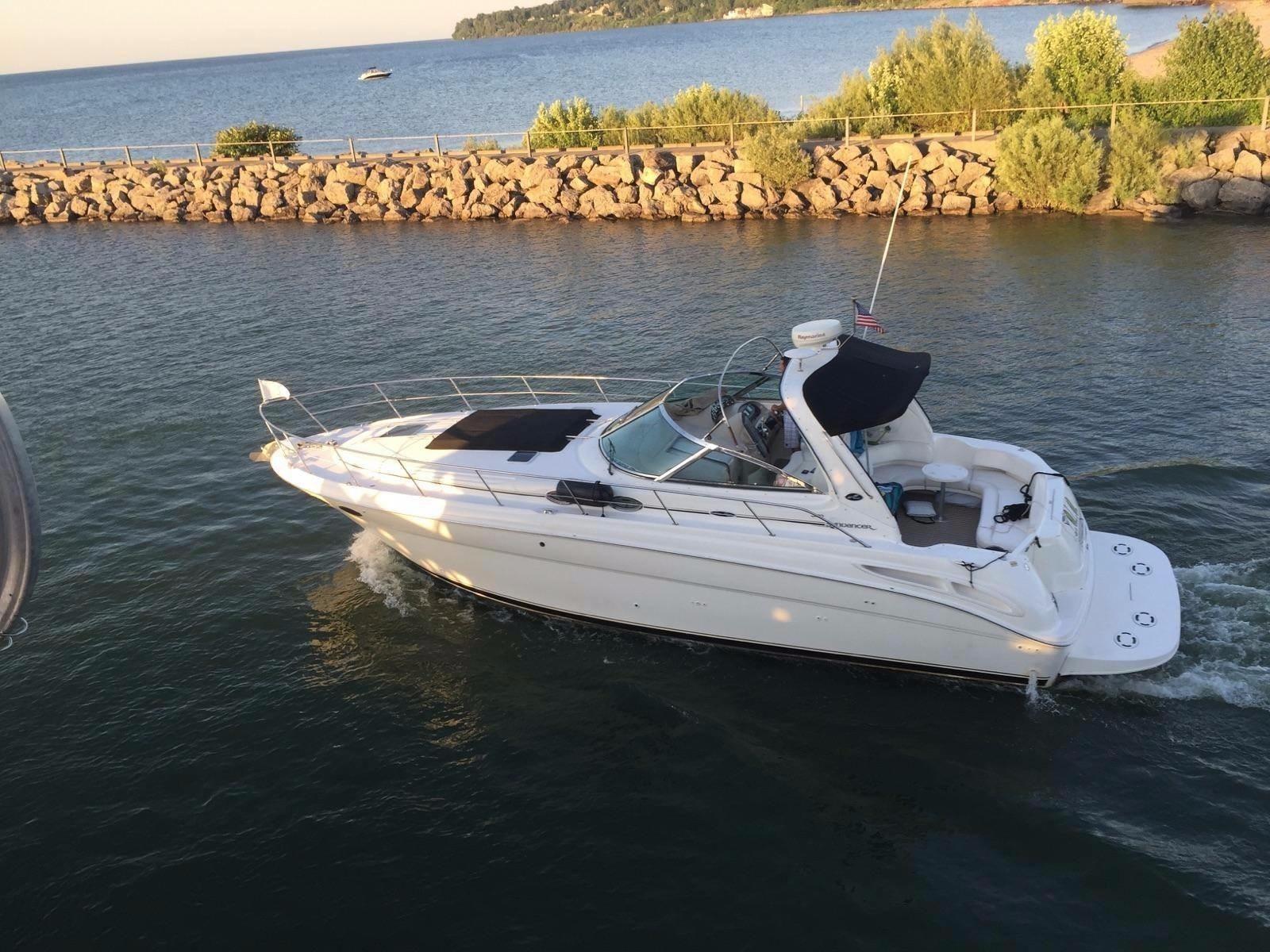 2002 Sea Ray 380 Sundancer Power Boat For Sale Www